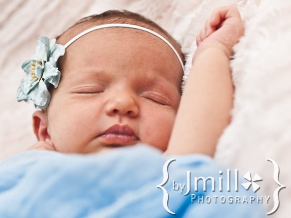 Contemporary Newborn Portrait