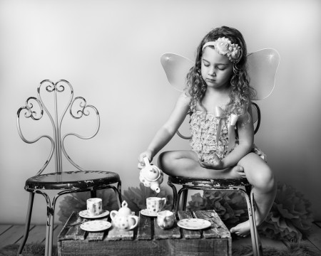 Birthday Tea Party Photography