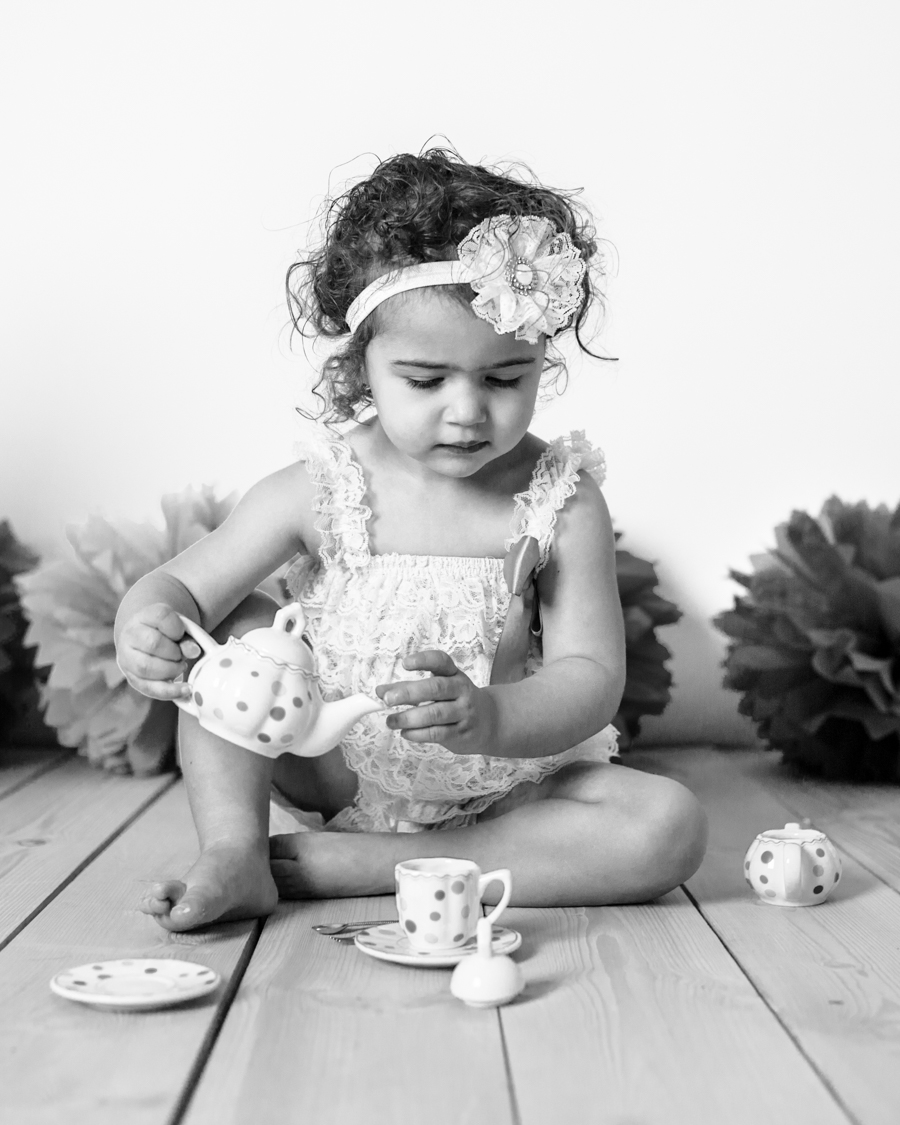 Birthday Tea Party Photography