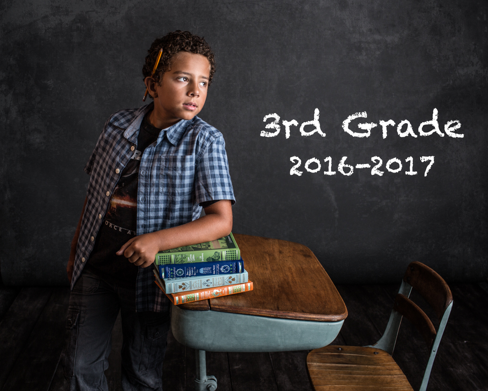 Back To School Portrait