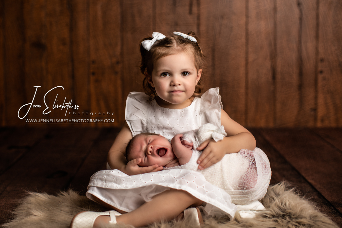 Newborn Sibling Portraits