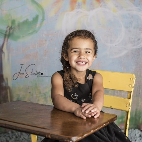 Jenn Elisabeth Photography Northern Virginia School Spring Portriats