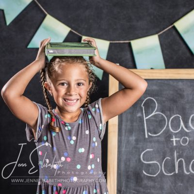 Back to school portraits