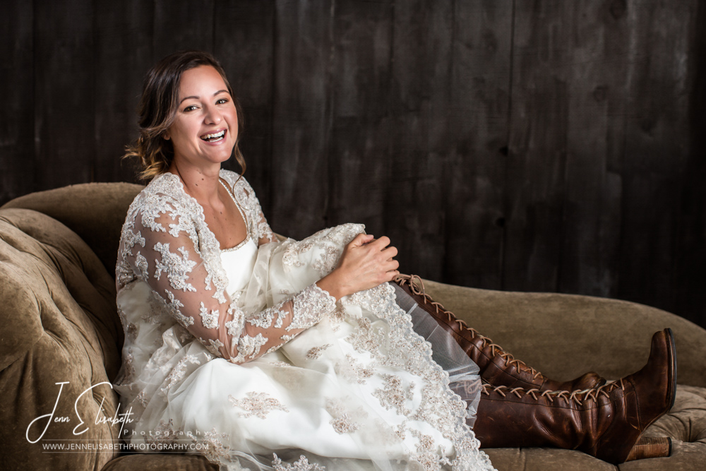 Rustic Bridal Portrait