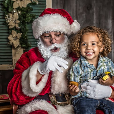 Portraits with Santa