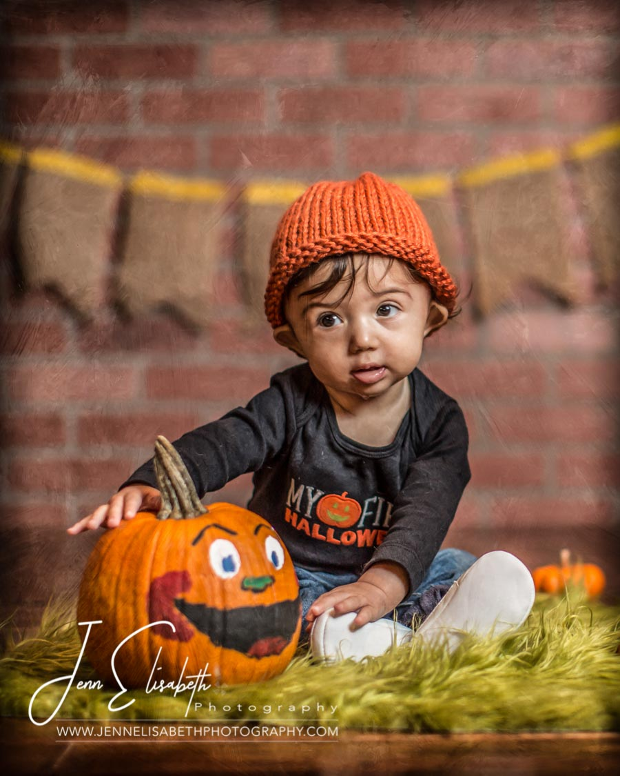 Little Pumpkin Patch Portraits