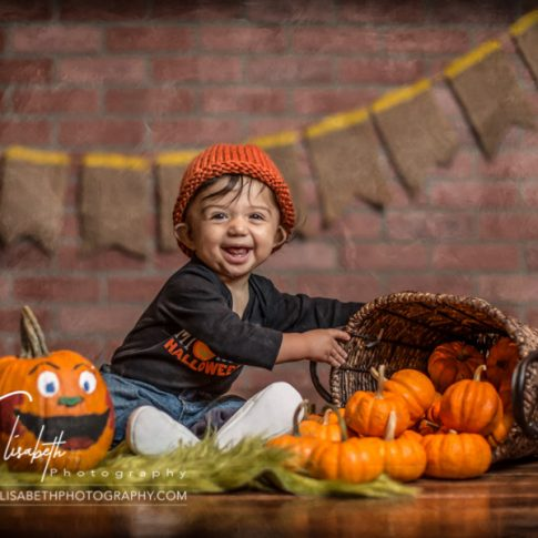 Little Pumpkin Patch Portraits