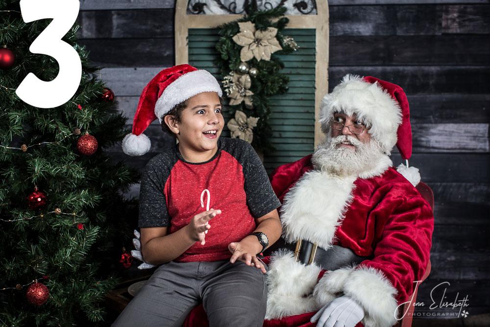 Santa Outtakes