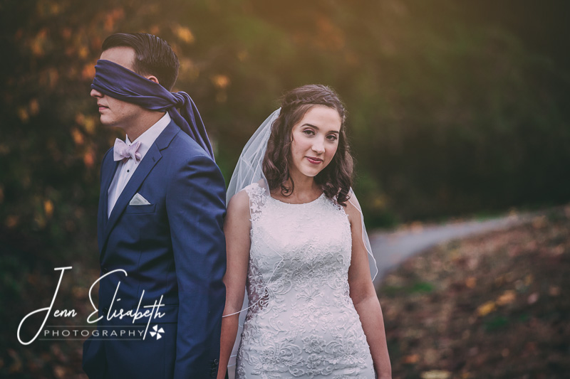First Look Wedding Portraits Woodbridge Virginia