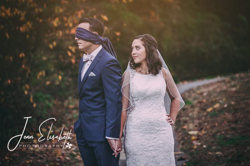 Tackett's Mill Wedding Portraits