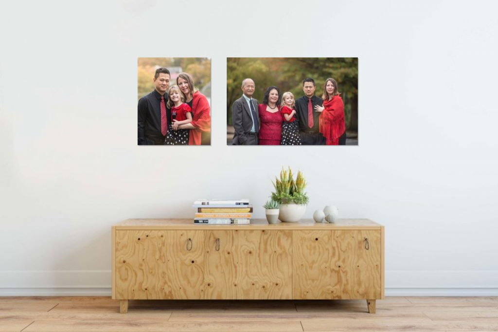 Heirloom Portrait Canvases