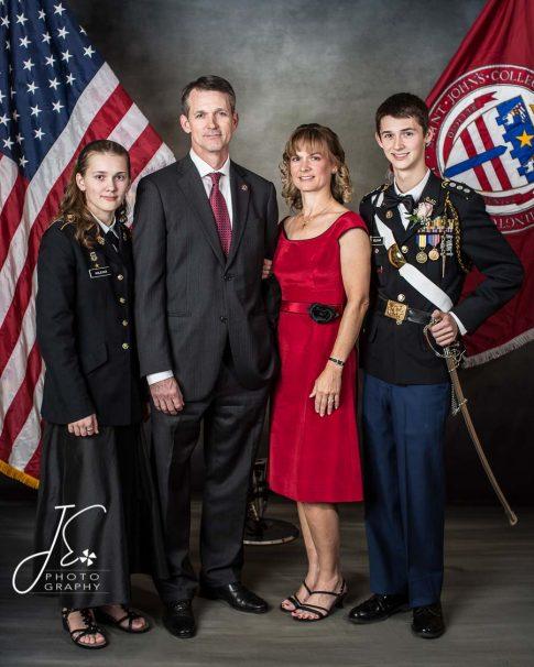 ROTC Family Portraits