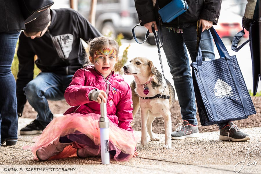Puppies and Children at Tackett's Mill Spring Fling Woodbridge VA Event - Photography