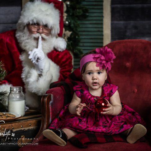 Santa Portraits in Northern Virginia