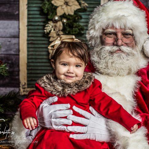 Santa Portraits in Woodbridge Virginia