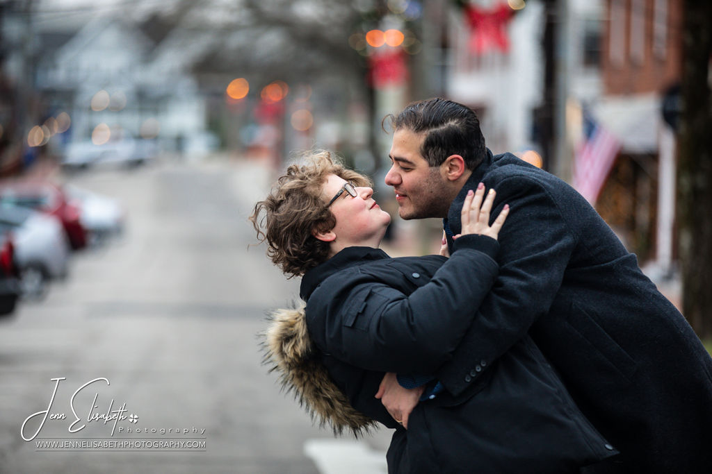 Stunning Winter Engagement Phototgraphy in Occoquan Virginia