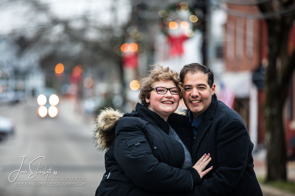 Stunning Holiday Engagement Photos in Northern Virginia